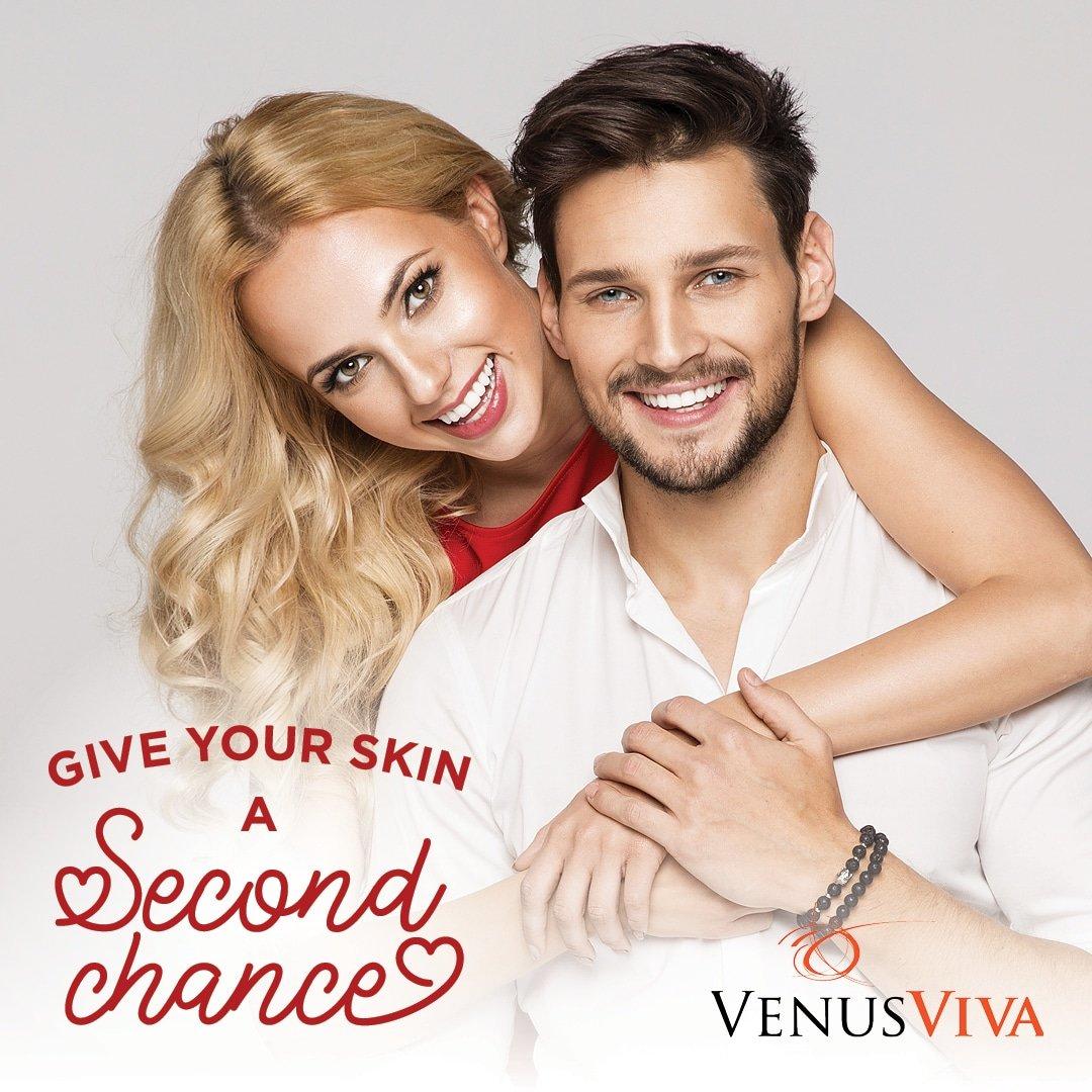 Rosacea Reduction With Venus Viva